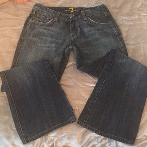 Seven Jeans Boot Cut Flare sz 27